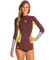 Roxy Women's 2MM Long Sleeve Booty Cut Spring Suit Wetsuit