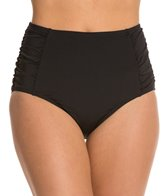 Jantzen Solid Retro High Waist Bikini Bottom