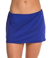 Jantzen Solid Swim Skirted Bikini Bottom