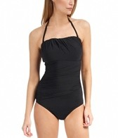 Jantzen Solid The Wrap Up Bandeau One Piece
