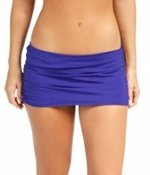 jantzen-solid-shirred-skirted-bottom