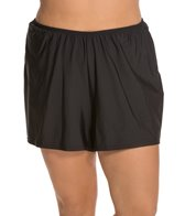 penbrooke-plus-size-solid-swim-short