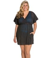 sunsets-plus-size-coastal-crochet-black-getaway-surplice-dress