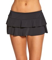 sunsets-black-tiered-swim-skirt-bottom