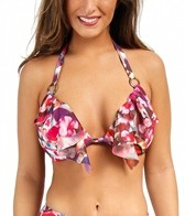 Swim Systems Hothouse Blooms Cup Push Up Triangle Bikini Top
