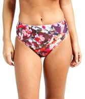 Swim Systems Hothouse Blooms Basic High Waist Bikini Bottom
