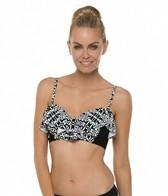 Swim Systems Bora Bora Underwire Bustier Bandeau Bikini Top