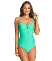 Swim Systems Mint Underwire Bandeau One Piece