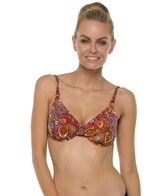 Swim Systems Bali Batik Underwire Push Up Bikini Top
