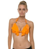 Swim Systems Tiger Lily Push Up Triangle Bikini Top