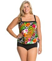 maxine-plus-size-balinese-dream-bandeau-faux-tankini-one-piece