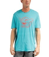 Rip Curl Men's Shaka Mahollow Heather Custom S/S Tee