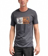 Rip Curl Men's Camo Split Watu Heather S/S Tee