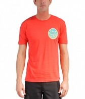 Rip Curl Men's Solid Wetty Custom S/S Tee