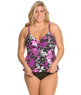 penbrooke-exotic-journey-plus-size-underwire-twist-tankini-top