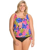 penbrooke-tivoli-plus-size-banded-bottom-blouson-tankini-top