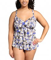 penbrooke-le-fleur-plus-size-v-neck-triple-tier-tankini-top