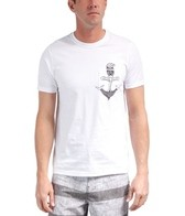 Hurley Men's Black Coast S/S Tee