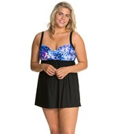 delta-burke-plus-size-falling-petals-draped-swim-dress