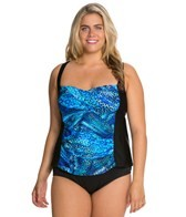 delta-burke-plus-size-tigress-twist-shirred-tankini-top