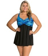 delta-burke-plus-size-tigress-draped-swim-dress