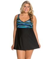 delta-burke-plus-size-jet-setter-v-neck-swim-dress
