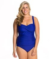 delta-burke-plus-sized-solid-twist-mio-one-piece
