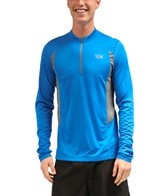 Mountain Hardwear Men's Double Wicked Running L/S Zip T