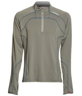2XU Men's 3/4 Zip Thru Running Top