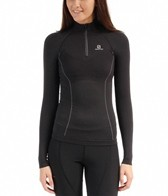 Salomon Women's EXO Motion Running L/S Zip Tee