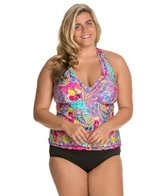 kenneth-cole-modern-gypsy-plus-size-halter-tankini-top