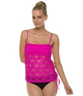 kenneth-cole-island-fever-blouson-tankini-top