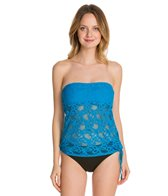 Kenneth Cole Island Fever Blouson Tankini Top