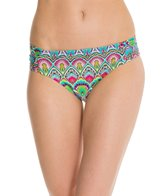 Kenneth Cole Marbeled MOD Sash Tab Hipster Bikini Bottom