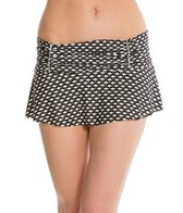 Kenneth Cole Under The Swim Skirted Pant Bikini Bottom