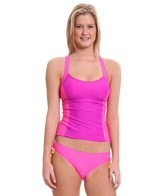 Reebok Fitness Maddy Colorblock Tankini Top