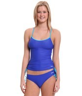 reebok-fitness-holly-side-shirred-solid-tankini-top