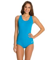 Ocean by Dolfin AquaShape Conservative Lap Suit Solid Polyester