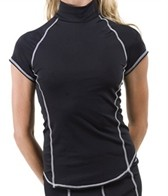 Girls4Sport S/S Rashguard With Shelf Bra