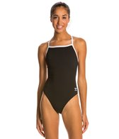 Speedo Solid Endurance + Flyback Training Swimsuit