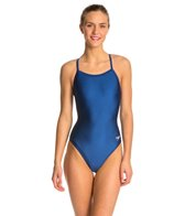 Speedo PowerFLEX Solid Flyback Swimsuit