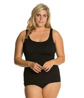 penbrooke-krinkle-plus-size-scoop-neck-sheath-one-piece