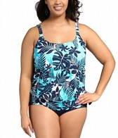 beach-house-plus-size-newport-tropical-floral-side-tie-blouson-tankini-top