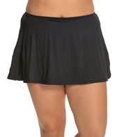 Beach House Plus Size Solid Skirted Bottom
