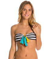 Volcom Reality Bites Stripe Bandeau Top