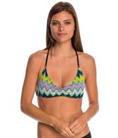 Volcom Zaggered Crop Sports Top
