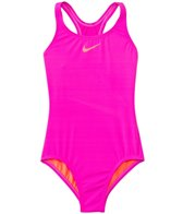 Nike Girls' Core Solid Racerback One Piece Swimsuit (7yrs-14yrs)