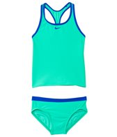 Nike Girls' Core Solid Racerback Tankini Two Piece Set (7yrs-14yrs)
