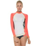 Nike Beach Colorblock L/S Performance Cover-Up Top