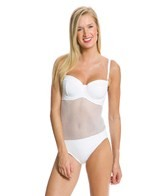 Seafolly Net Effect D-Cup Bustier One Piece